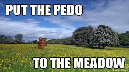 Pedobear meadow