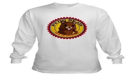 Pedobear T-shirt logo