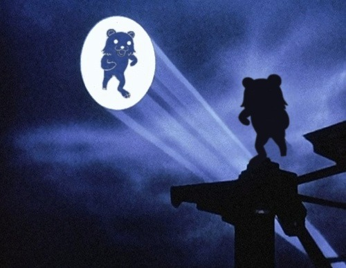 Pedobear Batman light