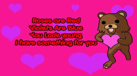 Pedobear be my Valentine
