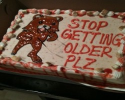 Pedobear cake stop getting older