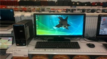 Pedobear computer screen
