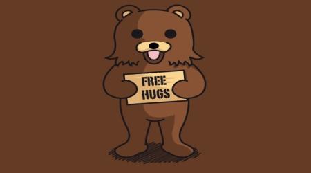 Pedobear free hugs