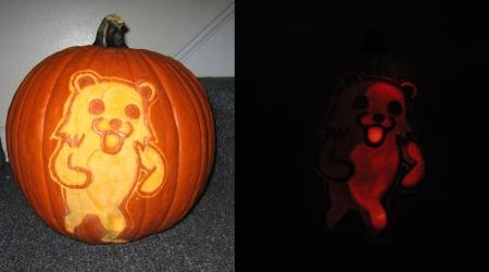 Pedobear dark pumpkin