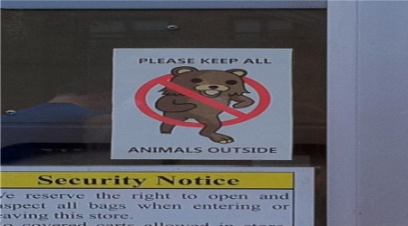 Pedobear security notice