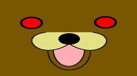 Pedobear simple face