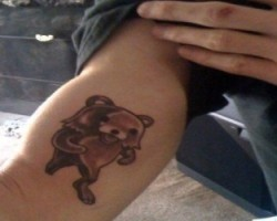 Pedobear tattoo
