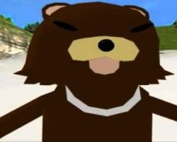 Pedobear video game character