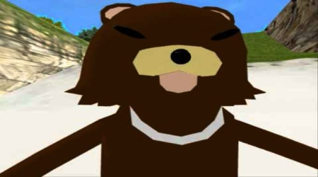 Pedobear video game character