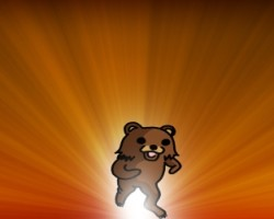 Pedobear wallpaper small