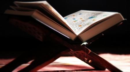 Quran book open
