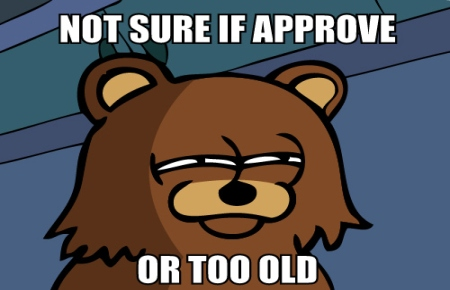 Pedobear not sure