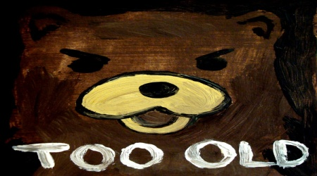 Pedobear too old drawing