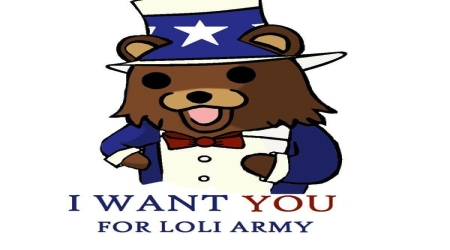 Uncle Pedobear loli Army