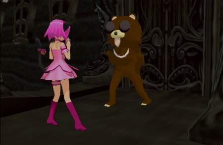 Pedobear attacks little girl