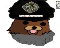 Pedobear Muhammad pedophile Muslim