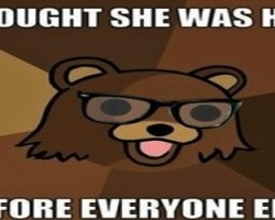 Pedobear hot girl quote