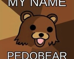 My name Pedobear