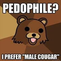 Pedobear male cougar