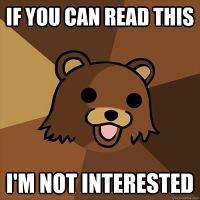 Pedobear reading