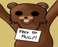 Pedobear free hug