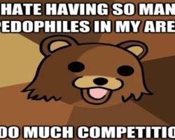 Pedobear pedophiles competition