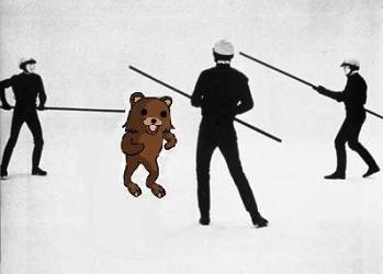Pedobear hunted by police