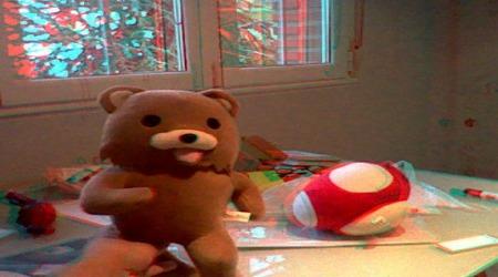 Pedobear in bedroom