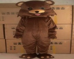 Pedobear in warehouse