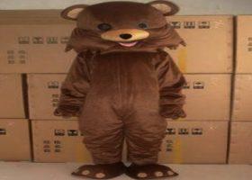 Pedobear in warehouse