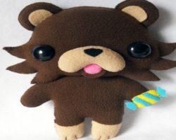 Pedobear look alike toy