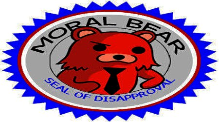 Pedobear seal of dissaproval
