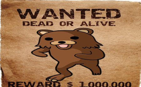 Pedobear wanted dead or alive