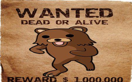 Pedobear wanted dead or alive
